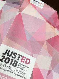 Grafisk materiale til Justed 2018